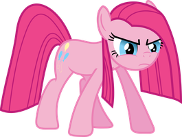 Who needs friends? There is only Pinkie Pie now by porygon2z