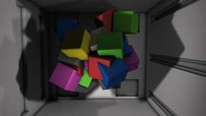 Abstract Cube - New Studio Cinema 4D by ryanr08