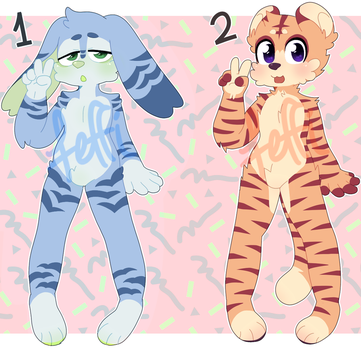 Cute Adopts! OPEN $10 (PayPal) LOWERED PRICES! by st-rk