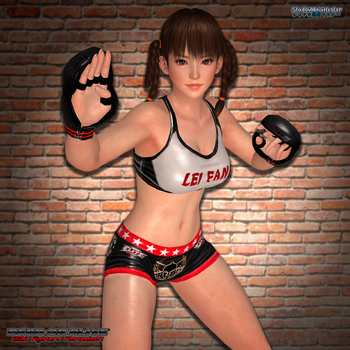 MMA Fighters Photoshoot: Lei Fang by ShadowNinjaMaster