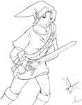 Link and Navi by hunky-dory