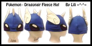 1st Gen - Dragonair Hat by LiliNeko