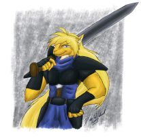 -my Kyrii: Gourry- by Eltharion