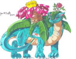 003:Venusaur by Prophecy-Inc