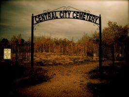 Cemetery Gates by Snow-Cat-759