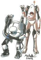 Atlas and P-body by TwilightMoon1996