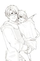 APH Hold Me, You Git WIP by Owyn-Sama