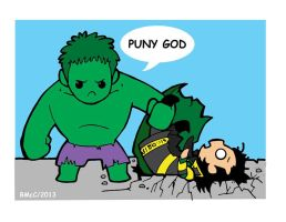 Puny God by Shanachie-fey