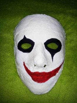 Joker / Crow like Mask - front by MustageIce