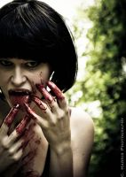 taste of Blood by CHarrisPhotography
