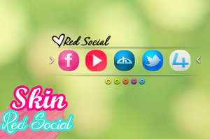 Skin-Red Social by MaguiEditionsLove