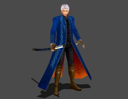 Marvel VS Capcom 3 - Vergil by IshikaHiruma