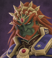 Ganondorf - Rough Painting by Toonexterminator