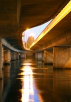 Under bridge of.. by evinio