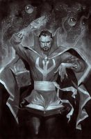 Dr. Strange Commission by ZurdoM
