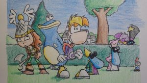 Rayman: Let's rock! by Ravingjur1087