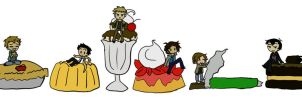 SPN-- Just Desserts by KaruLeonnese