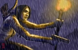 Lara Croft Entry 3 by scuttered