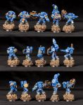 [Wh40k] Sternguard squad 1 by Mineraleater