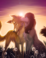Jenna and Leo by Cederin