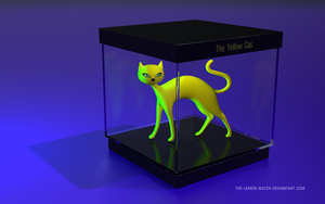 My Yellow Cat Collectible by THE-LEMON-WATCH