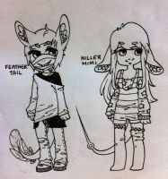 Species adopts 2 (CLOSED) by hellafluffy
