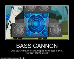 Bass Cannon Poster by Shinyriolu21