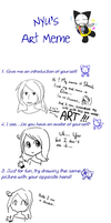 ART meme. by BrambleLady