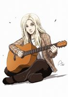 Holly Henry With Guitar by Fandias