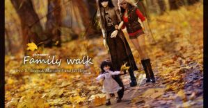 Family walk feat. harlequin - photostory - by I-W-Stoopid