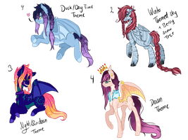 Pony Bat Sky theme adopts CLOSED by Sarahostervig