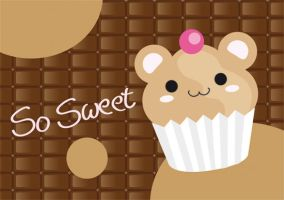 BEARy sweet cupcake by FraeuleinAbart