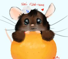 Noel Fieldmouse by shifftastic