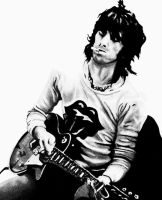 Keith Richards by caotipping