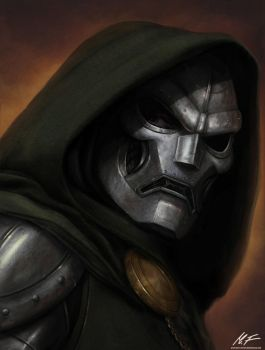 Dr.Doom by MattiasFahlberg