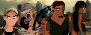 [Unfinished] The Walking Dead Animated! by mirandaareli