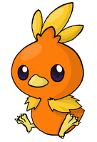 255. Torchic by ChibiTigre