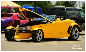 Yellow Plymouth Prowler by TheMan268