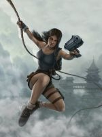 Lara Croft by Lukecfc