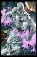 Silver Surfer colors by hanzozuken