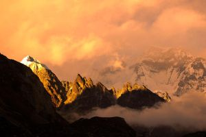 towers of fire by MugdimanDhaulagiri