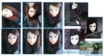 Make up Rei Ergo Proxy by arlequinmistress