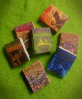 mini harry potter books by Ithelda