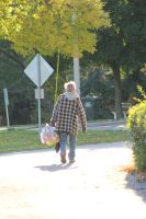 Man with Bag 1 by NoAttributionStock