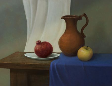 Still life one color by rouswilliam