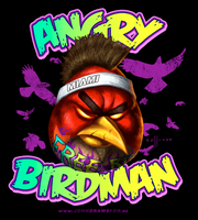 Angry Bridman by Sullyman