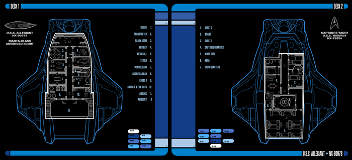 U.S.S. Allegiant | LCARS Interior View by Auctor-Lucan