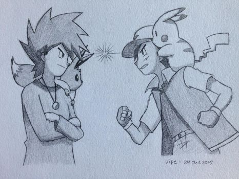 Request: Chrisolian. THE pokemon rivals by vipexplosion