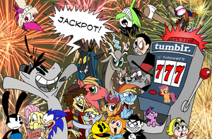 777 Jackpot! by FractiousLemon