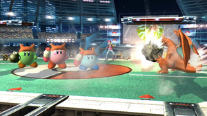 Charizard trains the Kirbys by SmashBros2008